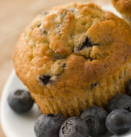 Oat Bran and Blueberry Muffin Recipe