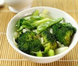 Broccoli and Bok Choy Stir Fry