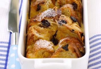 Raisin Bread Pudding Recipe