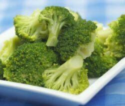 Broccoli with Orange Sesame Sauce