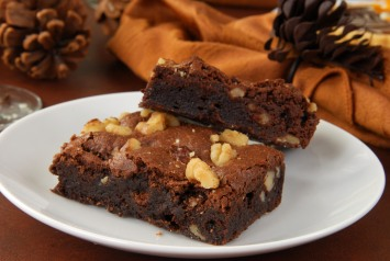 Decadent brownies