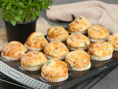spinach and cheese muffins