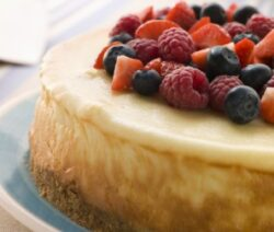 Creamy Baked Cheesecake Recipe