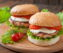 Asian flavored chicken burger recipe