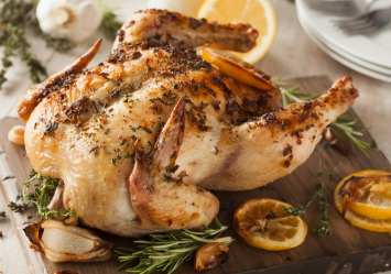 Lemon and Herb Roasted Chicken Recipe