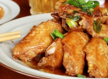Sticky Chicken Wing Recipe