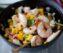 Chili Prawns Recipe and Mango Salad
