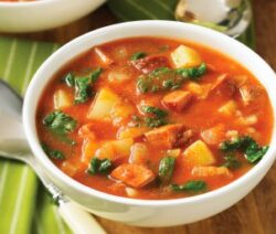 Chorizo and Kale Soup Recipe