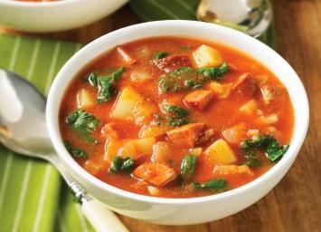 Chorizo and Kale Soup Recipe