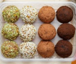 Almond and Coconut Balls