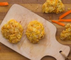 Carrot and Coconut Cookies