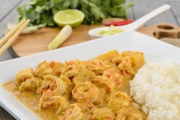 Thai Coconut Shrimp Recipe