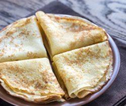 Dessert crepe batter recipe