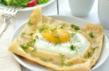 crepe egg cups