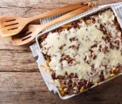 easy ground beef casserole recipe