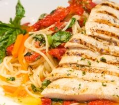 Easy Baked Chicken Breasts, Italian Style