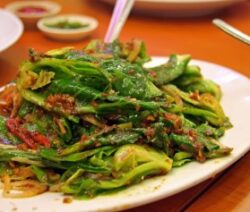Chinese style greens recipe