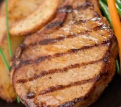 Hawaiian Grilled Pork Chops