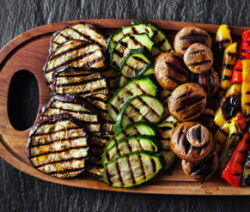 Grilled Vegetables, Asian Style