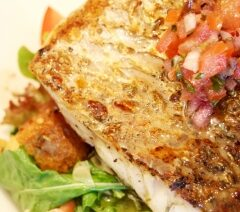 Grilled Lemon Dill Fish