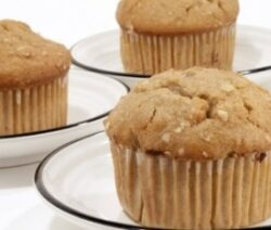 Healthy Apple Oat Bran Muffin Recipe