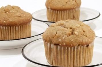 Healthy Apple Oat Bran Muffin Recipe