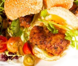 Jerk Chicken Burger Recipe