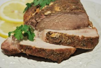 Pork Roast with Lemon and Garlic