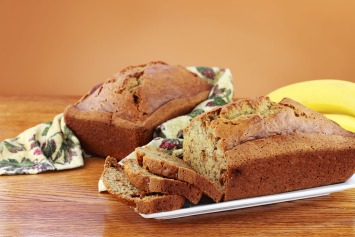 low fat banana bread