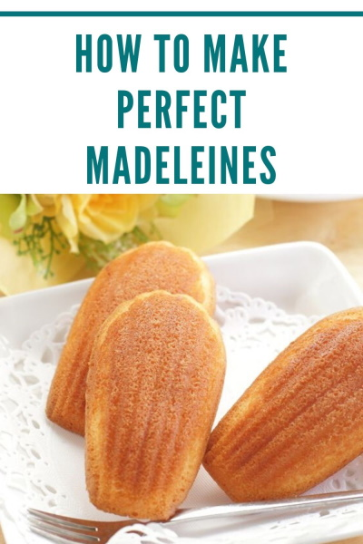 Madeleines pinterest image