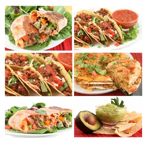 mexican recipes collage
