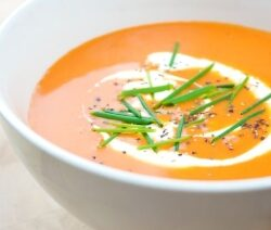 Moroccan Carrot Soup Recipe