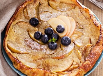 Oven baked dutch baby pancake