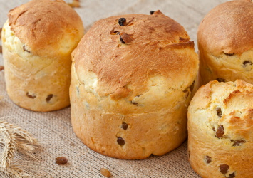 Italian panettone bread recipe