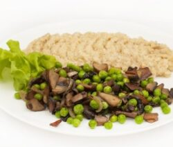 Mushroom and Peas Recipe