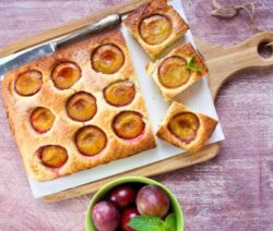 Plum cake recipe image