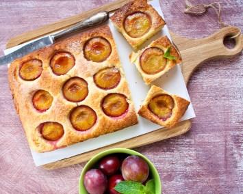 Plum cake recipe image