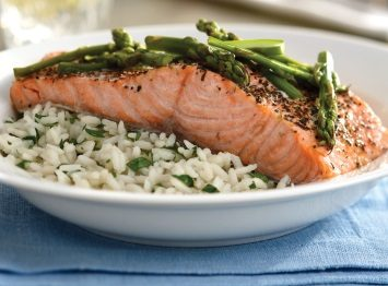pressure cooker herbed salmon