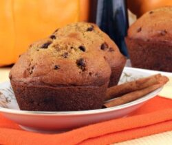 Low Sugar Pumpkin Muffins