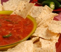 Recipe for Homemade Tomato Salsa
