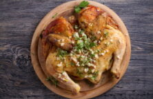Split roast chicken recipe