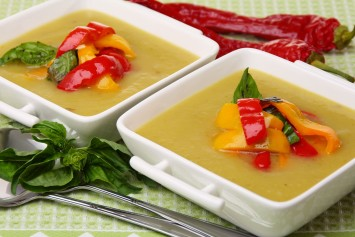 Roasted Pepper Soup Recipe