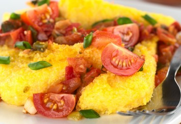 Roasted Vegetable Ragout with Polenta