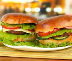 Salsa Burger Recipe