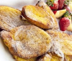 skiers overnight french toast