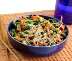 Asian Soba Noodle Salad
