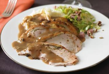 Spatchcock Roast Turkey with Lemon, Sage and Garlic