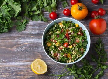 Middle Eastern tabouli