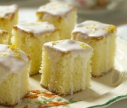 Orange tea cakes recipe
