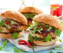 Jalapeno Turkey Burgers